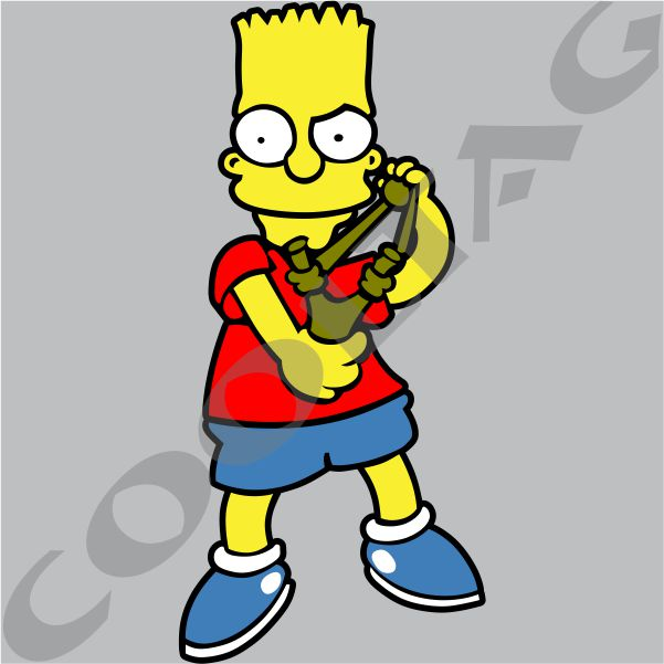 Bart Simpson Motorcycle Stickers | Reviewmotors.co