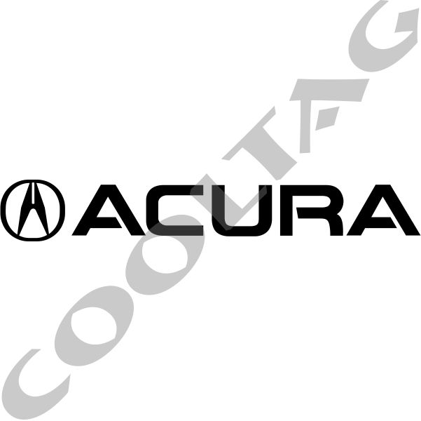 Acura Stickers Decals COOLTAG - Acura decals